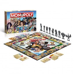 D6557 - ONE PIECE - MONOPOLY EDITION FR