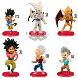 8478 - DRAGON BALL GT - WORLD COLLECTABLE FIGURE vol.4 x 6