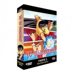 Yu Yu Hakusho - Partie 2 - Coffret DVD + Livret - Edition Gold