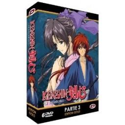 Kenshin le Vagabond - Partie 3 - Coffret DVD + Livret - Edition Gold