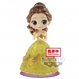 8975 - Q posket Disney Characters - Belle - Glitter line