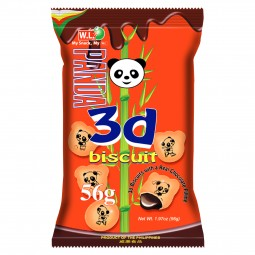 D8822 - PANDA 3D CHOCO - 56 Gr x 10