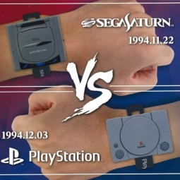 9028 - SONY VS SATURN - PACK OF 15 MONTRES