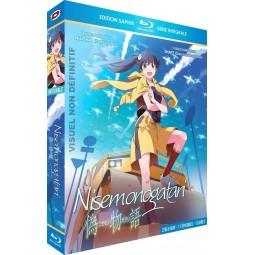 Nisemonogatari - Intégrale - Edition Saphir - Coffret [Blu-Ray] + Livret