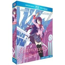 Bakemonogatari - Intégrale + 3 OAV - Edition Saphir - Coffret [Blu-Ray] + Livret