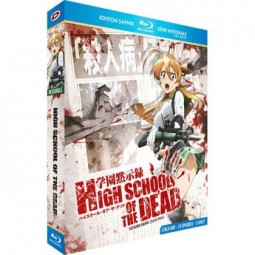 High School of the Dead - Intégrale + OAV - Coffret [Blu-Ray] + Livret - Edition Saphir
