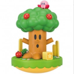 D7666 - KIRBY - COIN BANK WHISPY WOOD & KIRBY - 20 cm