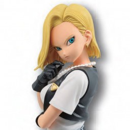 9114 - DRAGON BALL Z - GLITTER & GLAMOURS - ANDROID NO.18...