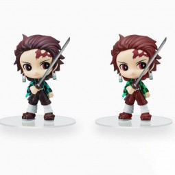 9349 - DEMON SLAYER - TIP'n'POP FIGURE - TANJIRO KAMADO X 2