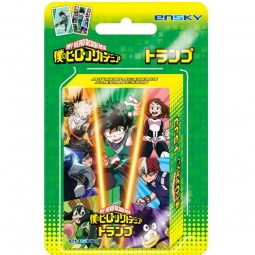 9503 - MY HERO ACADEMIA - 56 PLAYING CARDS - BOX OF 6