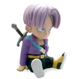 9518 - DRAGONBALL Z - TIRELIRE CHIBI BANK - TRUNKS