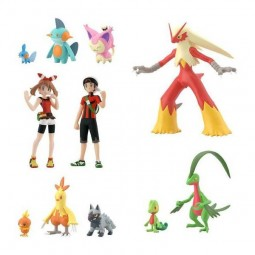 9534 - POKEMON SCALE WORLD HOENN REGION - BOX OF 11