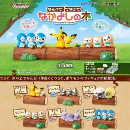9666 - POKEMON - POKEMON NAKAYOSHI FRIENDS - SET OF 6