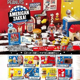 9669 - SNOOPY - AMERICAN ZAKKA! BOX - SET OF 6