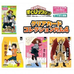 9850 - MY HERO ACADEMIA - CLEAR CARD COLLECTION GUM Vol.4...