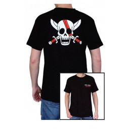 One Piece - T-shirt Shanks Skull - Taille S