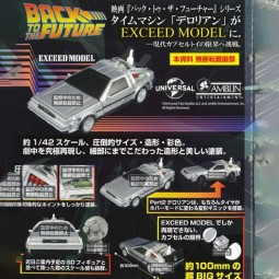 10098 - BACK TO THE FUTURE - EXCEED MODEL - Delorian X 20