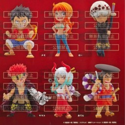 10632 - ONE PIECE - DEVIL FRUITS WITH ONE PIECE FIGURES X 30