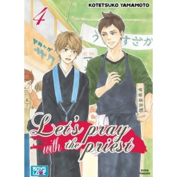 2422 - Let's pray with the priest - Tome 04 - Livre (Manga) - Yaoi - Hana Collection