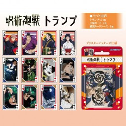 D10112 - JUJUTSU KAISEN - JEU DE 54 CARTES JUJUTSU KAISEN