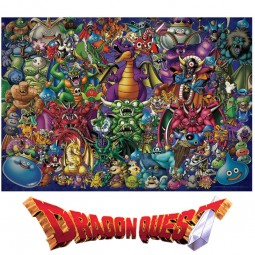 D10317 - Dragon Quest 35th Anniversary Jigsaw Puzzle -...