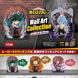 11324 - MY HERO ACADEMIA - WALL ART COLLECTION - 6 PACK BOX