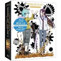 Sword Art Online 2 - Intégrale de l'Arc 1 : Phantom Bullet - Coffret Blu-Ray