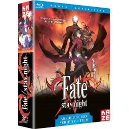 3670 - Fate Stay Night - Intégrale (Série TV + Film) - Absolute Box - Coffret Blu-Ray