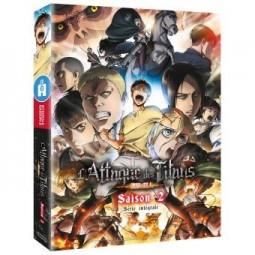 4384 - L'Attaque des Titans - Saison 2 - Edition collector limitée - Coffret Blu-ray