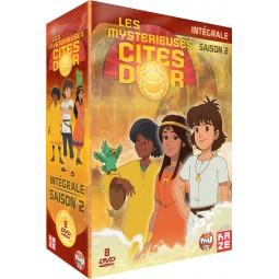 Les mystérieuses cités d'or - Saison 2 - Edition intégrale - Coffret DVD