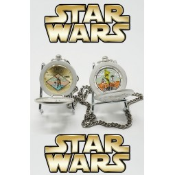 3935 - Star Wars - Lot de 2 montres à gousset Star Wars