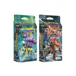 5332 - POKEMON SOLEIL ET LUNE TONNERRE PERDU - Starter Display Pokémon X 8
