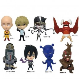 5863 - ONE PUNCH MAN - TRADING FIGURES 12 cm - BOITE DE 8